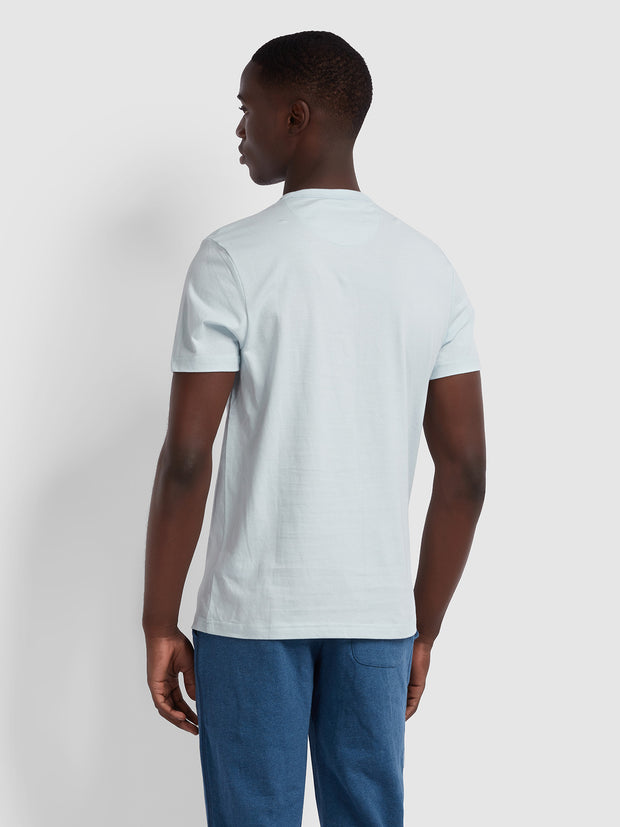 DENNIS SLIM FIT T-SHIRT IN SKY BLUE