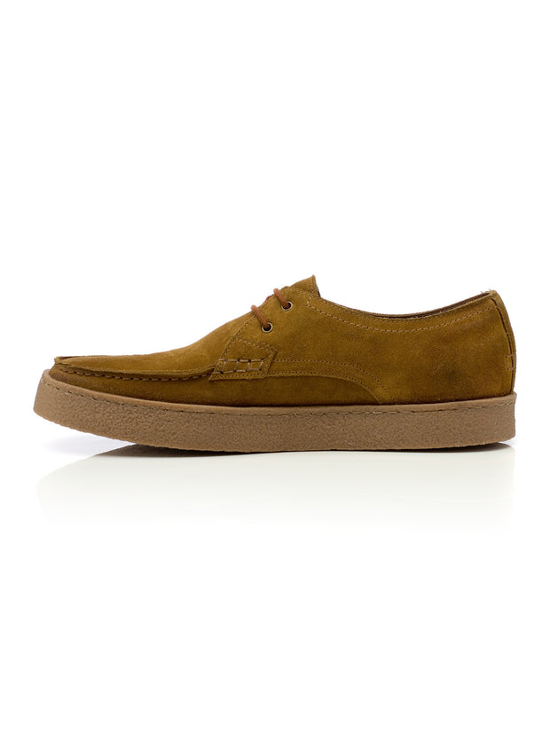 Form Suede Shoe In Tan
