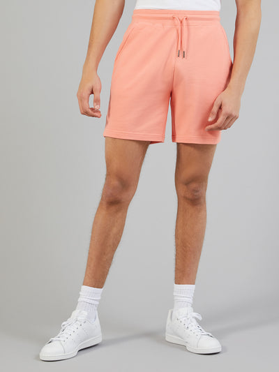 Shalden Jersey Shorts In Peach