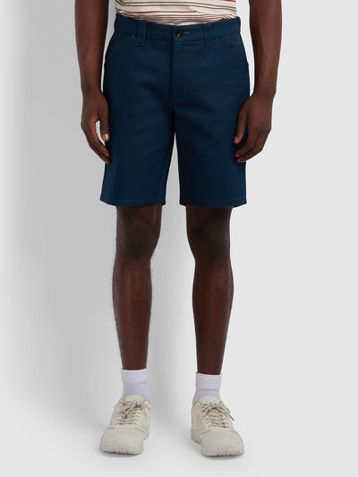 Hawk Original Twill Shorts In Farah Teal