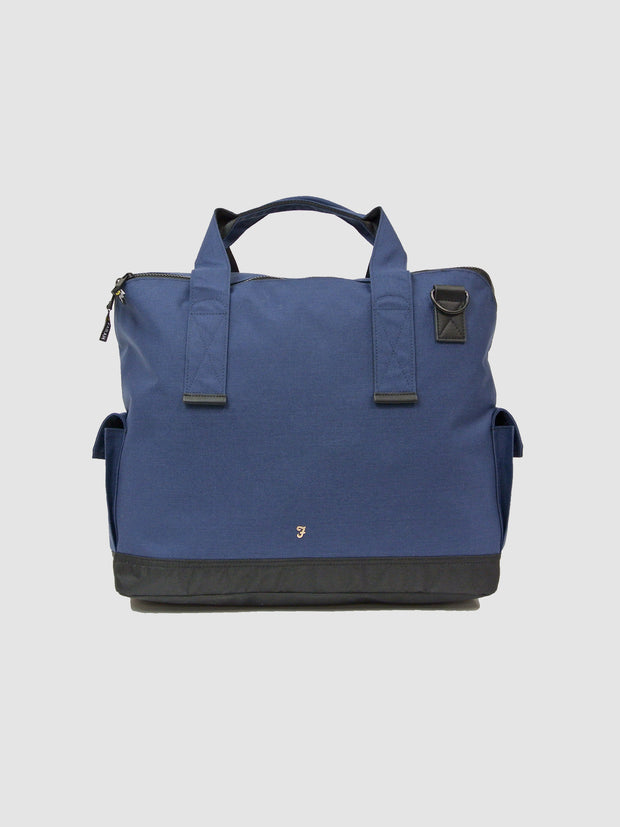 Helix Hopsack Holdall In True Navy