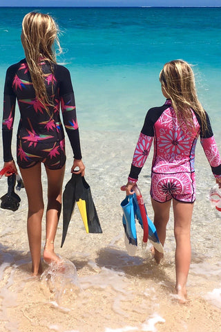 Long Sleeve Crop Top Wetsuit
