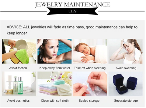 Maintain good quality jewlery
