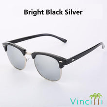Load image into Gallery viewer, Vintage Metal Semi-Rimless Sunglasses