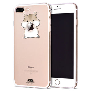 XIX for Funda iPhone X  Cute Animals