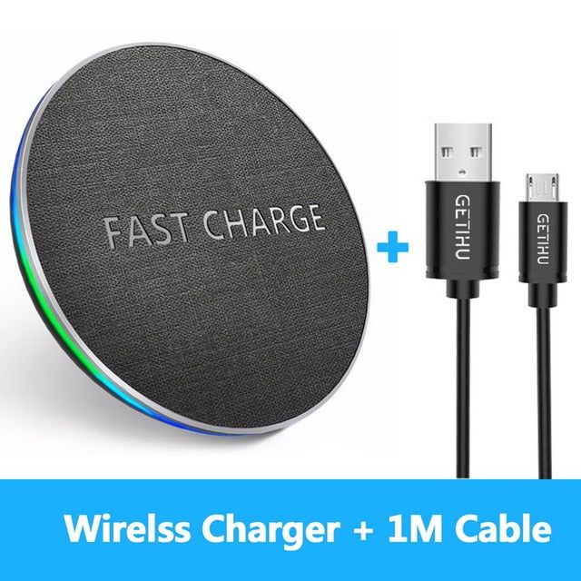 10W Qi Fast Wireless Charger Fast