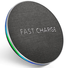 Load image into Gallery viewer, 10W Qi Fast Wireless Charger Fast