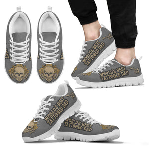 Awesome Worlds Best Tattooed Dad Sneakers