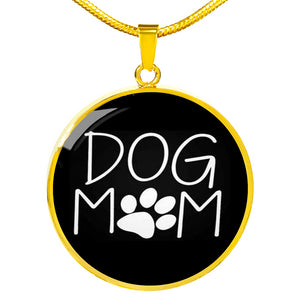 * Christmas Week ONLY Special* Gold Plated Dog Mom Necklace | Silver Dog Mom Necklace