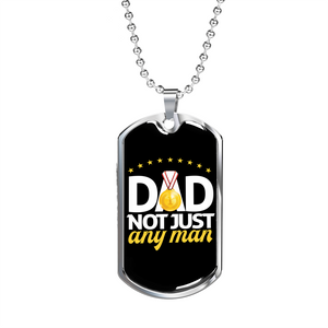 Let Your Dad know how much You Love Him This Father's Day With This Military Grade Dog Tag