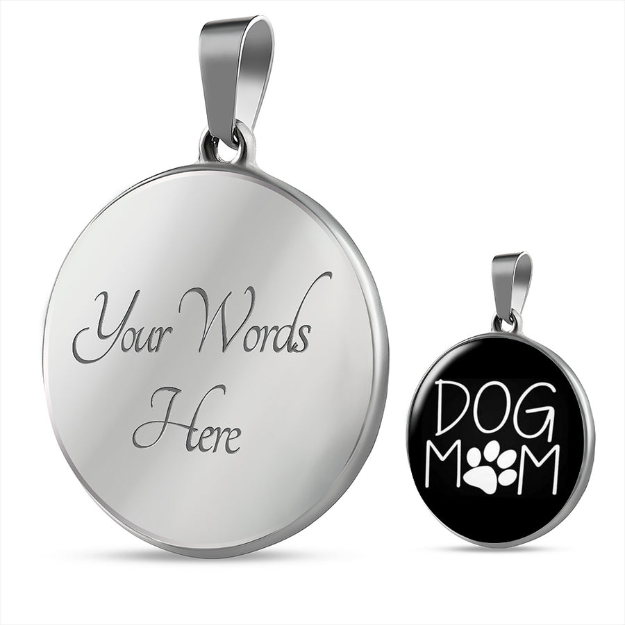 * Christmas Week ONLY Special* Dog Mom Luxury Silver Necklace