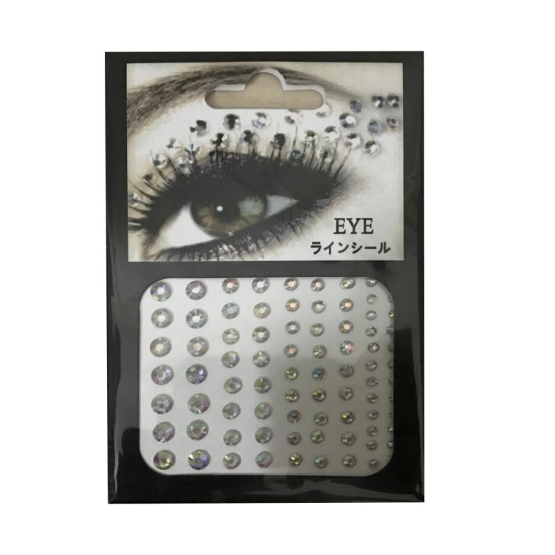 Crystal Eyes Sticker Tattoo Eyeliner Diamond Glitter Makeup Sticker Bridal Party