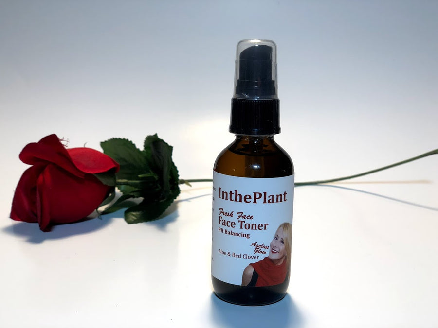 All Natural Organic PH Balancing Face Toner 2oz - Natural PH Balancing Toner tightens your skin is great for your skin.