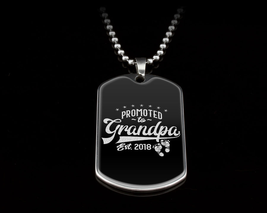 Don't Forget Dad - Birthday or Christmas Gift Promoted to Grandpa