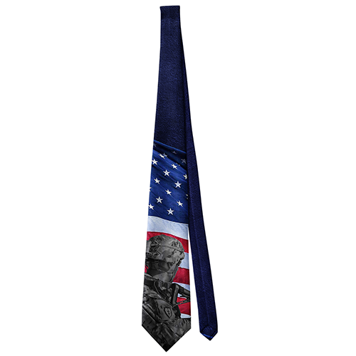 Neck Tie Just Released American Flag Tie