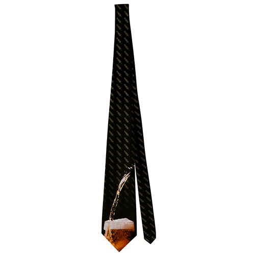 Beer Glass Men's Neck Ties
