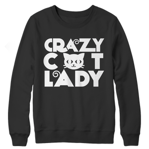 Limited Edition - Crazy Cat Lady  (blue) Sweatshirt