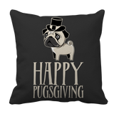 Cute Pet Limited Edition - Happy Pugs-giving soft and cuddly pillow Case