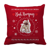 Cute Pet Christmas Limited Edition - Bah Humpug Pillow Cases