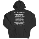 Put Christ Back In Christianity