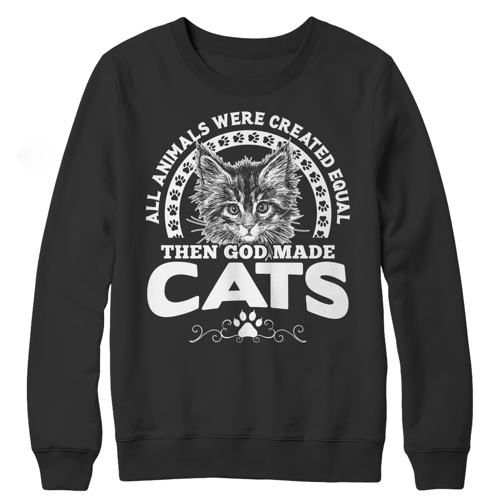 All Animals Were Created Equal Sweatshirt