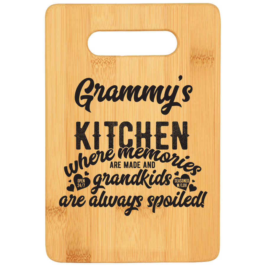 Cutting Board - Bamboo Granny's Kitchen