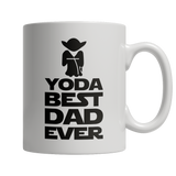 Yoda Best Dad Ever White Mug