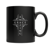 Amazing Grace Black Mug