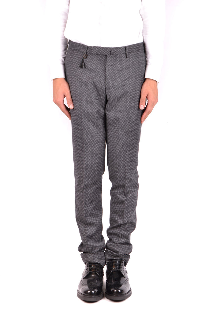 INCOTEX grey wool pants