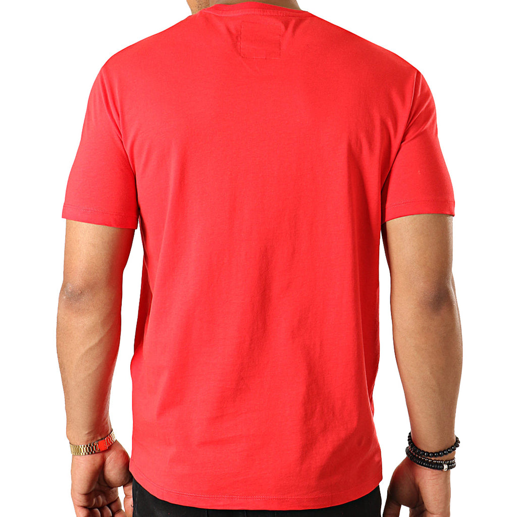 ARMANI EXCHANGE red cotton T-shirt