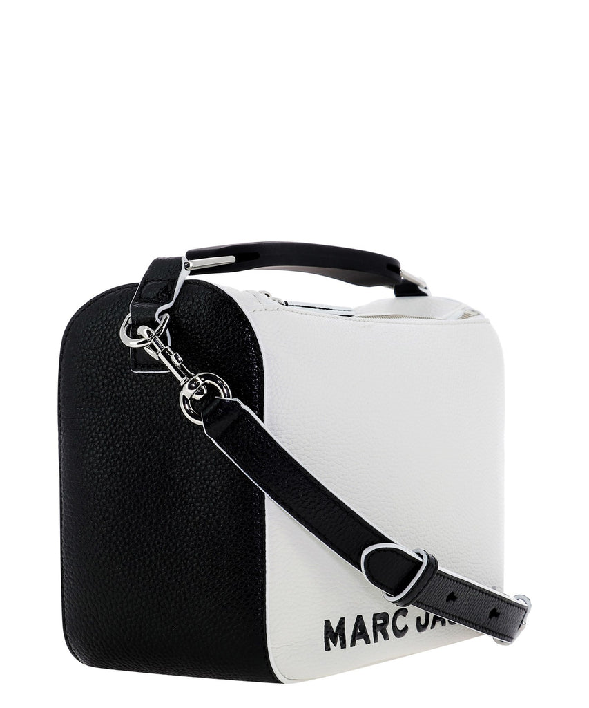 MARC JACOBS The softbox 23 white leather Handbag