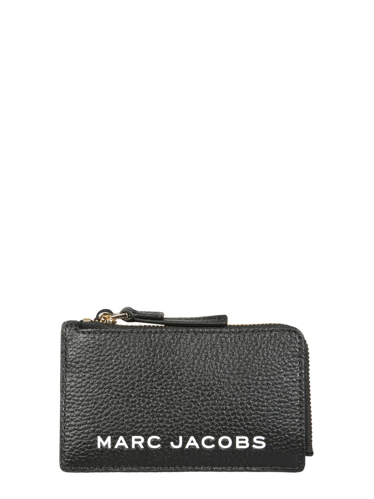 MARC JACOBS The bold small black leather Wallet