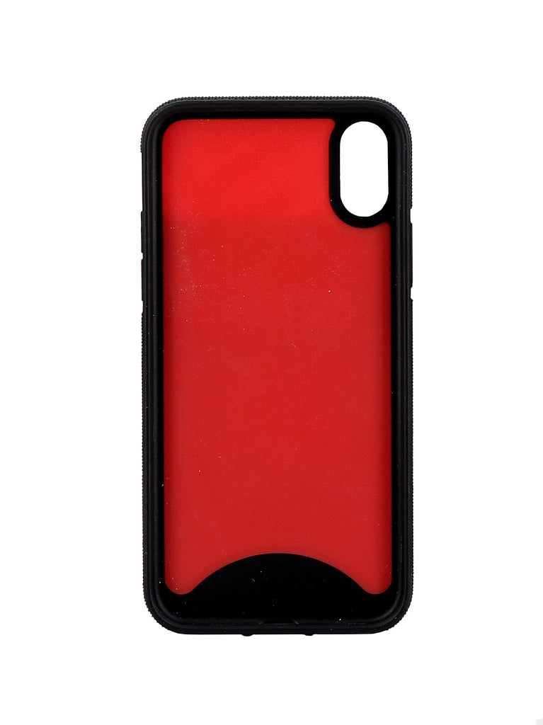 CHRISTIAN LOUBOUTIN black/red rubber Cover