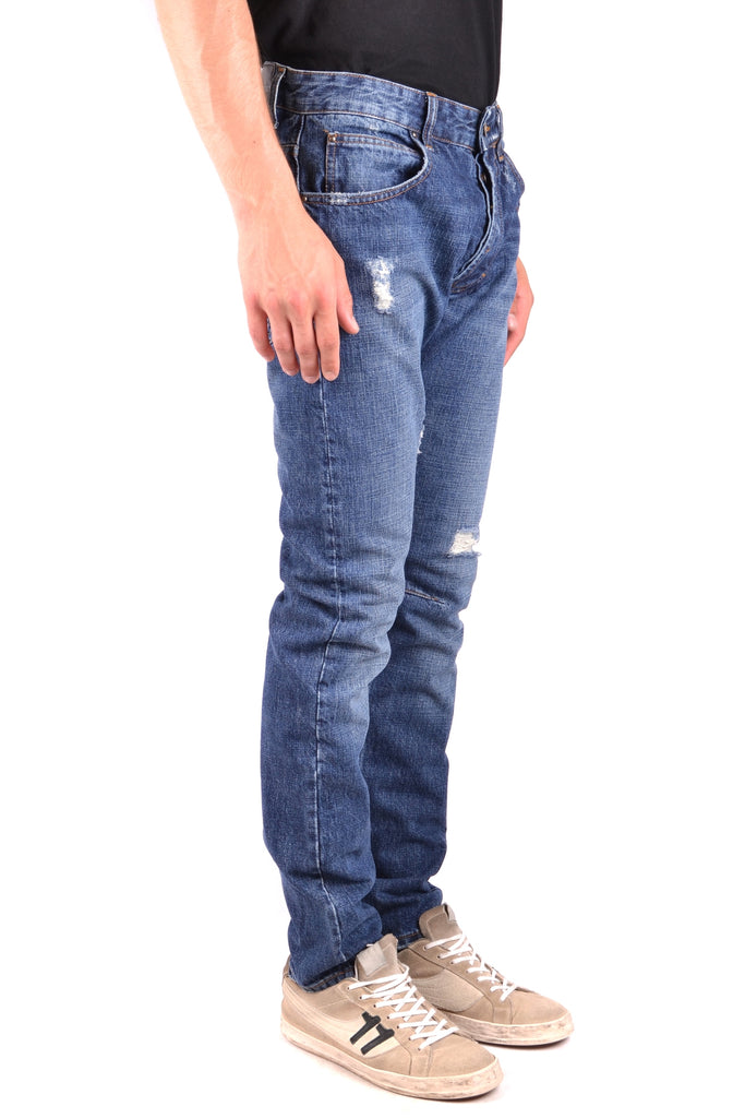 BALMAIN blue cotton jeans