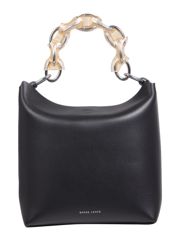 DANSE LENTE Ela bis black leather Handbag
