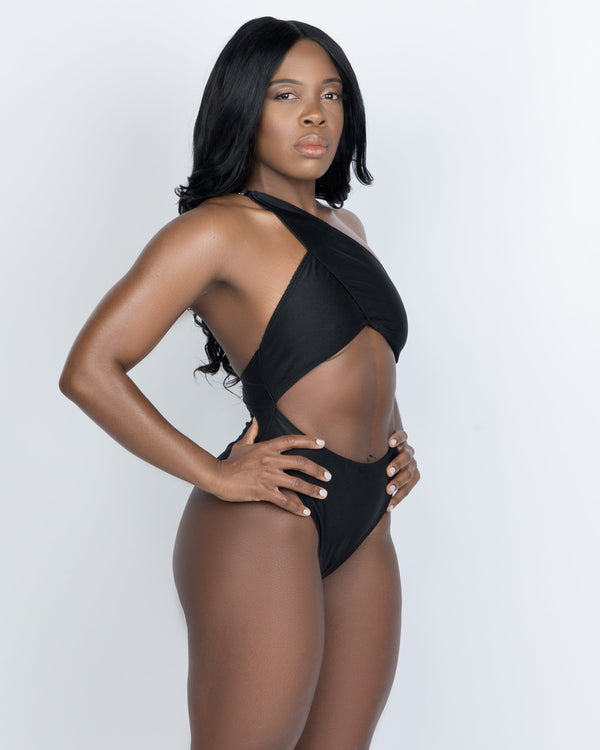 First-Class Black - One Piece Halter