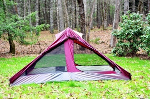 Repairing Damaged Window Netting in your Tent