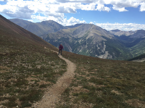 lightheart at hope pass, colorado trail