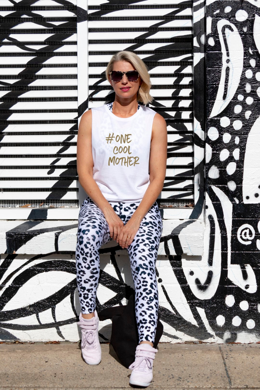 One Cool Mother Muscle Tee