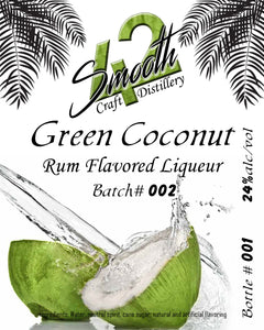 Green Coconut Rum Flavored Liqueur