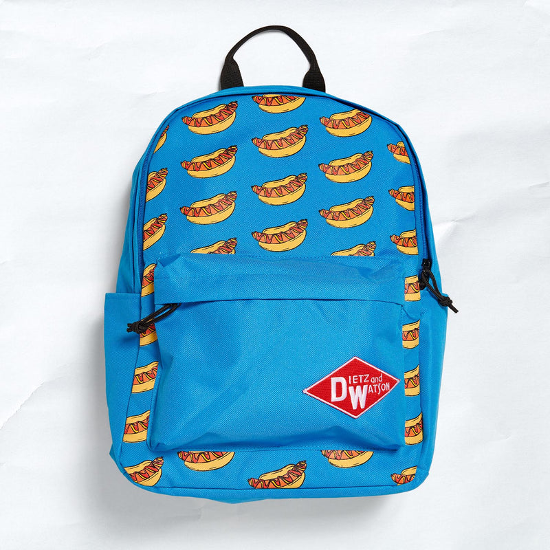 hot dog backpack