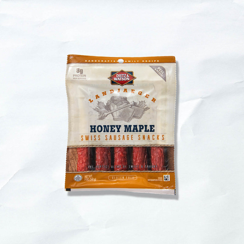 honey maple landjaeger 5-pack
