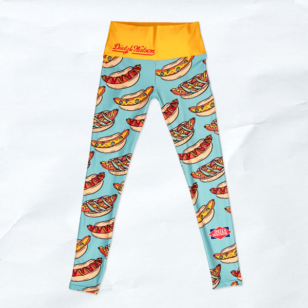 hot dog leggings