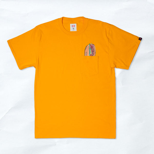 hoagie pocket tee