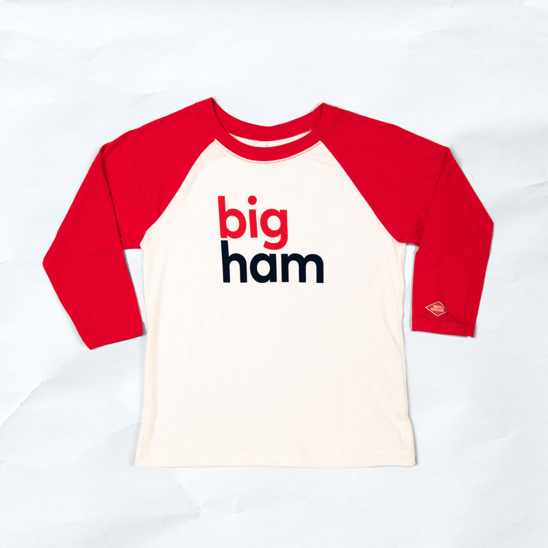 big ham 3-quarter tee kids'