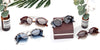 Vintage Round Half Frame Stylish Sunglasses