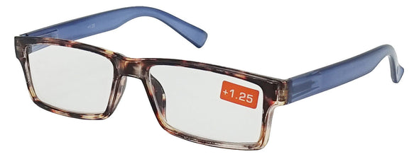 Mens Womens Reading Glasses Spring Hinge Readers 1.0 1.5 2.0 2.5 3.0 3.5 4.0 - myglassesmart.com