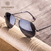 Black Pilot Vintage Stylish Sunglasses for Women