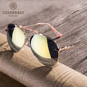 Oversized  Vintage Oval Pilot Stylish Sunglasses for Women