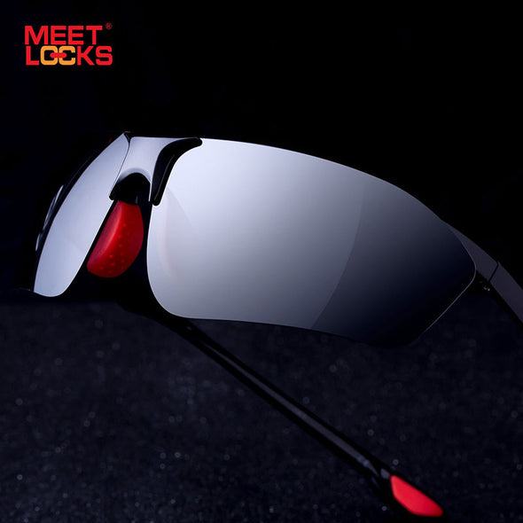 MEETLOCKS Sports Riding Sunglasses TR90 Frame with TAC Polarized LENS - myglassesmart.com